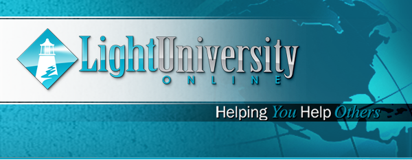 Light University Online: Helping You Help Others
