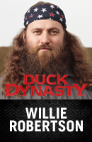 Willie Roberston from Duck Dynasty